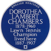 Sporting plaque